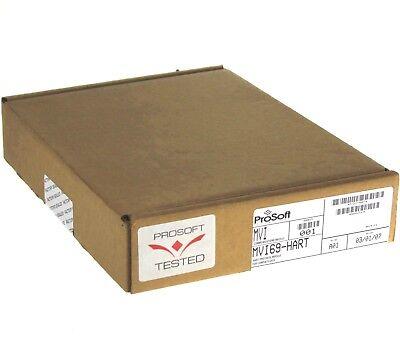 New Sealed Prosoft Allen Bradley Mvi69-hart Communication Module