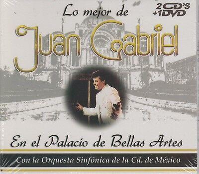 NEW - Juan Gabriel En El Palacio De Bellas Artes 2 CD's / 1 DVD SHIPS NOW ! segunda mano  Embacar hacia Argentina