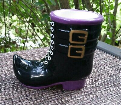 """Yankee Candle Witch Shoe/Boot Votive Candle Holder """"New"""""""