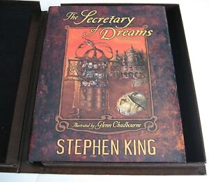 STEPHEN KING The Secretary of Dreams Volumes 1 & 2 SIGNED LIMITED Matching # Set