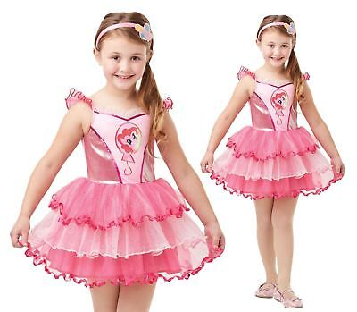 Girls Deluxe Pinkie Pie My Little Pony Costume Child Fancy Dress Outfit ()