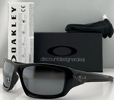 Oakley Valve Sunglasses OO9236 12-837 Polished Black Black Iridium Polarized (Oakley Oo Black Iridium Polarized)