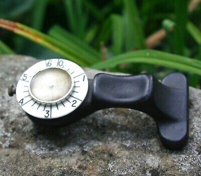 Vintage Coyne Industrial Leather Test Micrometer Gauge Pin Ounce Tester Tool