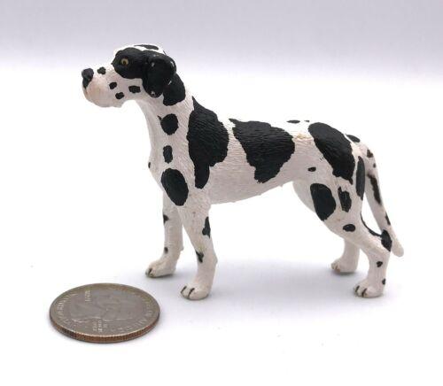 Schleich GREAT DANE Adult Harlequin 2009 Dog Figure Retired 16384
