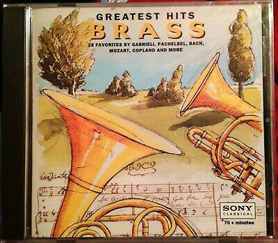 Brass: Greatest Hits (CD, Dec-1994, Sony Classical) BRAND NEW - FACTORY SEALED