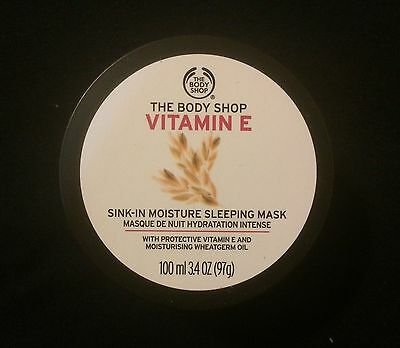 Flash Sale  The Body Shop Vitamin E Sink In Sleep Mask 100Ml 3 3Oz  Free Ship