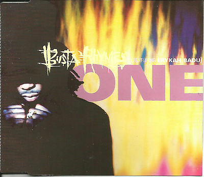 Busta Rhymes W  Erykah Badu One   Galore Clean   Instrumental Cd Single Sealed