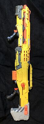 RARE Nerf Longshot CS-6 Yellow (Discontinued), Bonus Mag. No Scope