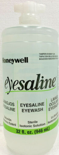 Honeywell Eyesaline Solution Refill, 32 fl. oz. - Exp. 05/2022