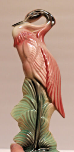 Ceramic Pink Flamingo (Wings In) STEWART & MCCULLOCH AS IS
