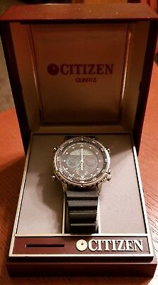 CITIZEN Promaster Chronograph Yacht Timer C050-088379 Steel Men's Vintage Watch