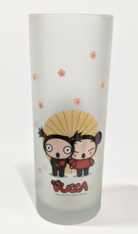Pucca frosted glassware Vooz Character System Avenue of the Stars