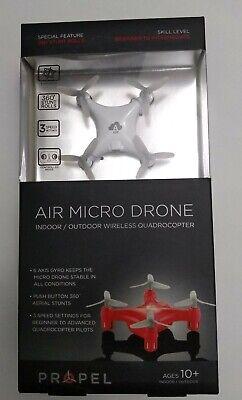 Impel Air Micro Mini Pocket Drone RC Micro Quadrocopter 3 Speed USB