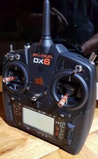 Spektrum DX6  DSMX + 5x Satellite Receivers, drone, fpv,  radio
