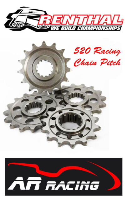Renthal 15 T Front Sprocket 323U-520-15 to fit Yamaha YZF R6 1999-2005 520 Pitch