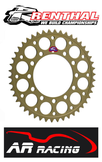 Renthal 51T Rear Sprocket 411-520-51HA  Honda CBR 600 RR 01-16 520 Race Pitch