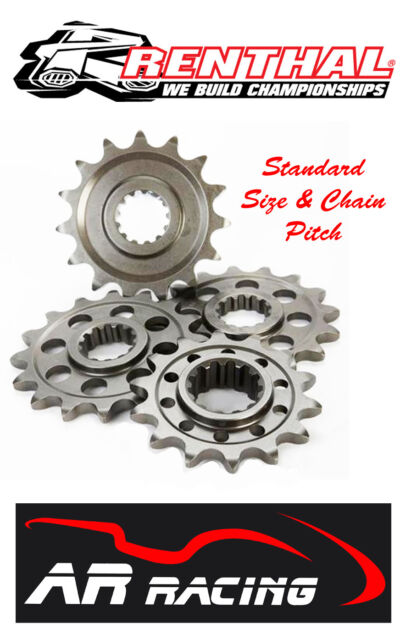 Renthal 13 T Front Sprocket 258-420-13 to fit Kawasaki KX65 2000-2015
