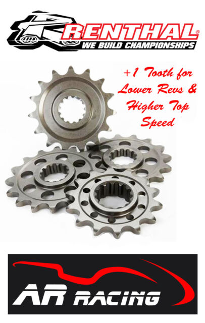 Renthal 14 T Front Sprocket to fit Yamaha YZ 250 F 2001-2013 (+1 tooth size)