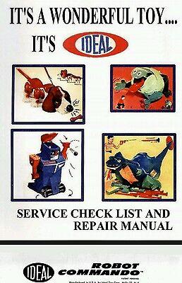 1961 Ideal Robot Commando Repair Manual