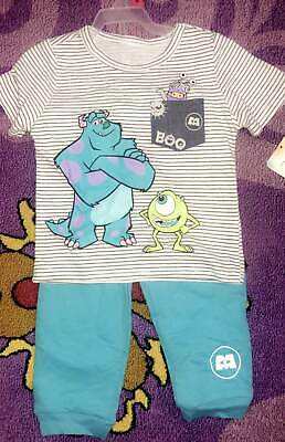DISNEY MONSTERS INC BABY OUTFIT SIZE 18 24 MONTHS NEW!