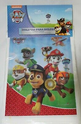 Paw Patrol Party Favor Bags Loot Treat Party Supply 25CT](Patrol Party)