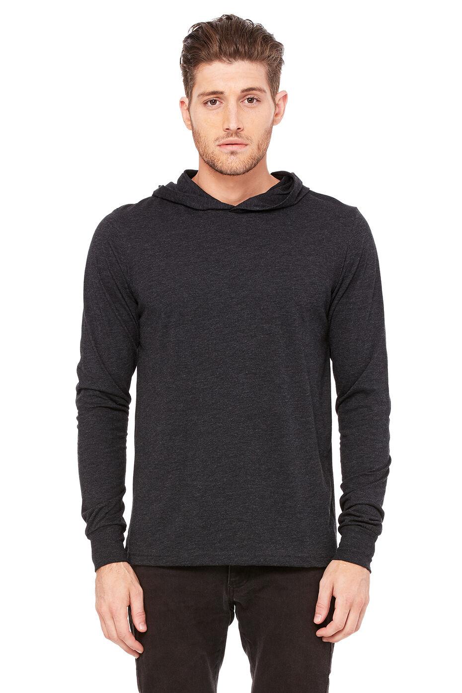 Black t shirt hoodie - Click To Enlarge