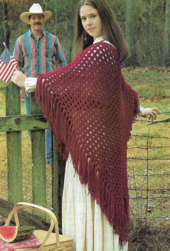 BURGUNDY SHAWL WRAP WOMEN