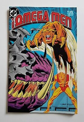 OMEGA MEN # 5 DC 1983 ~ 2nd Appearance of Lobo