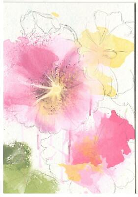 Easter Verses For Cards (Blank Verse Card For All.Floral Design For Birthday,Get Well, Thanks,)