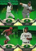 2011 Bowman Platinum Green Lot