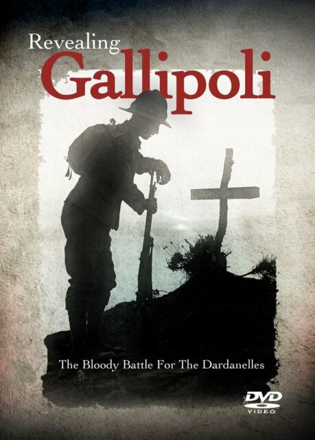 Revealing Gallipoli The Bloody Battle For The Dardanelles New & Sealed DVD