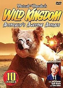 WILD KINGDOM - AUSTRALIA'S Awesome Animals (DVD SET) creatures SEALED NEW