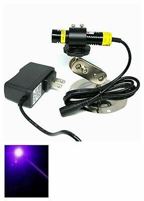 Focusable 405nm 200mw Blueviolet Dot Laser Locator Module Diode Projector