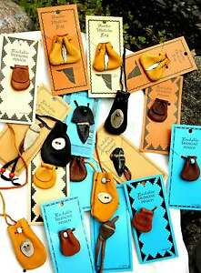 GROUP-LOT-MEDICINE-BAGS-Pouches-Leather-Pendants-2248