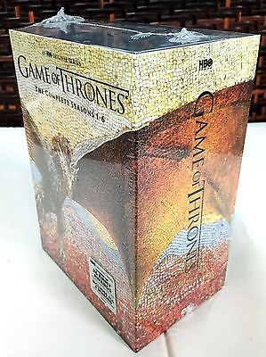 Game Of Thrones  The Complete 1 6 Seasons 1 2 3 4 5 6  Dvd  2016  30 Dvd Box Set