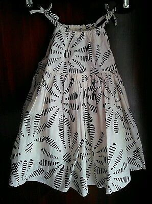 New Baby Gap Girls Black and Ivory Two Piece Flower Sun Dress Set 3 to 6 Months - Flower Girl Dresses Black And Ivory