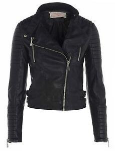 Women s Size 10 Black Leather Jackets f5590e2f51