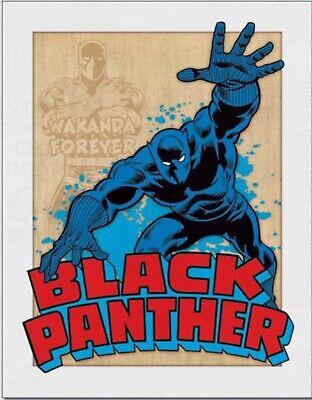 Black Panther Metal Tin Sign Superhero Marvel Comics Avengers Home Wall Decor