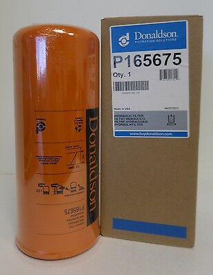 Donaldson P165675 Hydraulic Filter For Caterpillar 1261817 126-1817