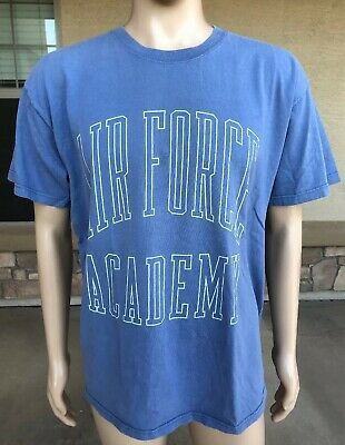 Vintage 90s Air Force Academy T Shirt Gear For Sports USA Made Size Large