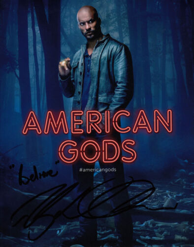 RICKY WHITTLE AMERICAN GODS SIGNED 10X8 PHOTO AFTAL & UACC [14730] IN PERSON