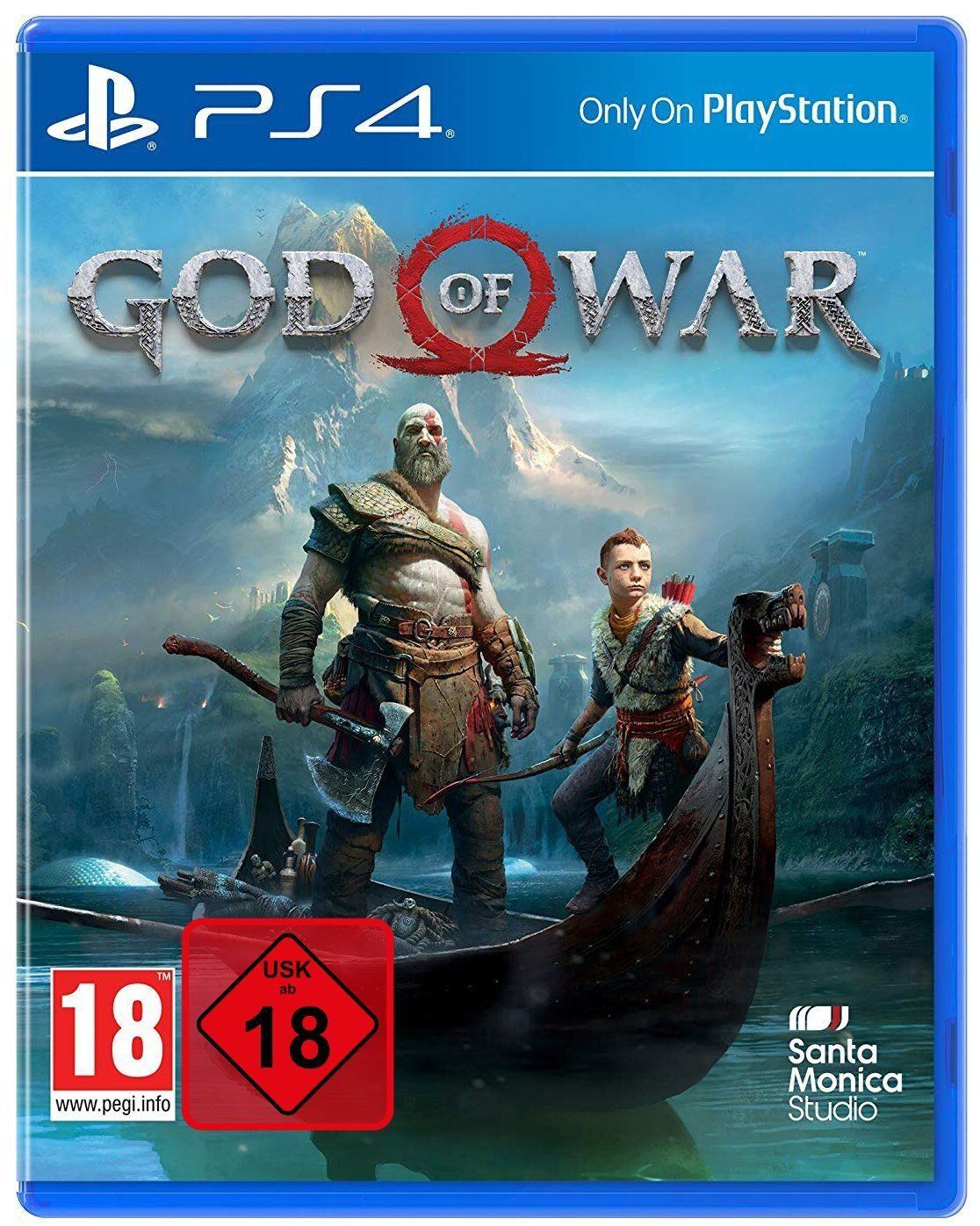 God of War [UNCUT BONUS EDITION] | PS4 | NEU & OVP | Blitzversand