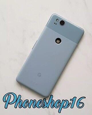 Original Google Pixel 2 G011A Akkudeckel Deckel Backcover Cover Kinda Blue Blau 2g Cover