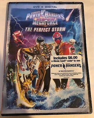 Power Rangers Super Megaforce: The Perfect Storm (DVD + Digital, Widescreen)