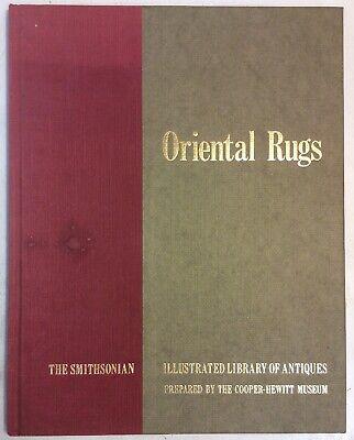 Oriental Rugs 1979 Hardback The Smithsonian Walter B Denny PreownedBook.com - Oriental Com