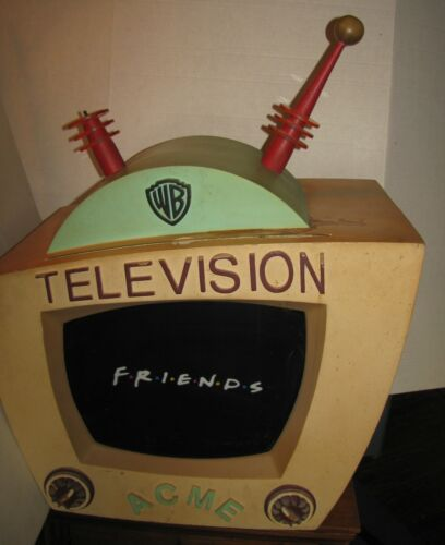 RARE WB Warner Brothers ACME TV Television Store Display FRIENDS tv show