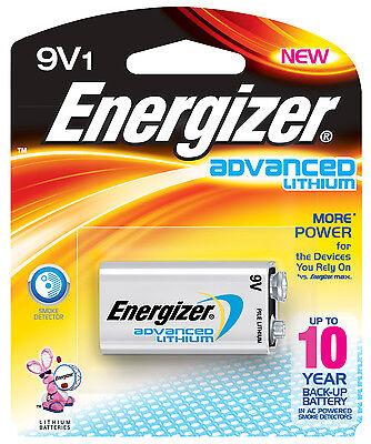 9V Energizer Advanced Lithium 9V LA522 Battery