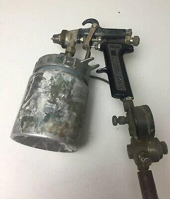 Binks Model 7 - Paint Spray Gun With Cup