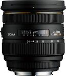 Sigma  EX DG HSM Aspherical 24 mm - 70 mm F/2.8  Lens For Nikon