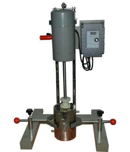 Dispersion Mixer Machine Disperser Homogenizer Emulsifier Digital Display Lab US